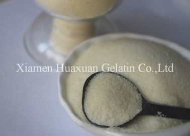 China Bovine / Fish Skin Edible Gelatin Powder Light Yellow For Food Industry factory
