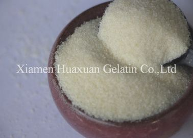China Food Grade Gelatin Powder Jelly Strength 150 - 250 Bloom For Yoghurt Or Cheese factory