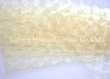 China Halal Edible Leaf Gelatin Sheets CAS 9000-70-8 Used In Dessert And Pastry factory