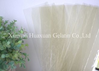 China High Transparency Leaf Gelatine Sheets For Confectionery And Dairy Products factory