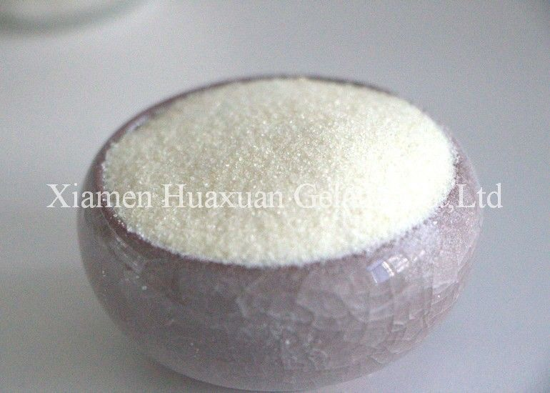 120 Bloom Pig / Porcine Gelatin Powder For Juice Ingredients And Additives supplier